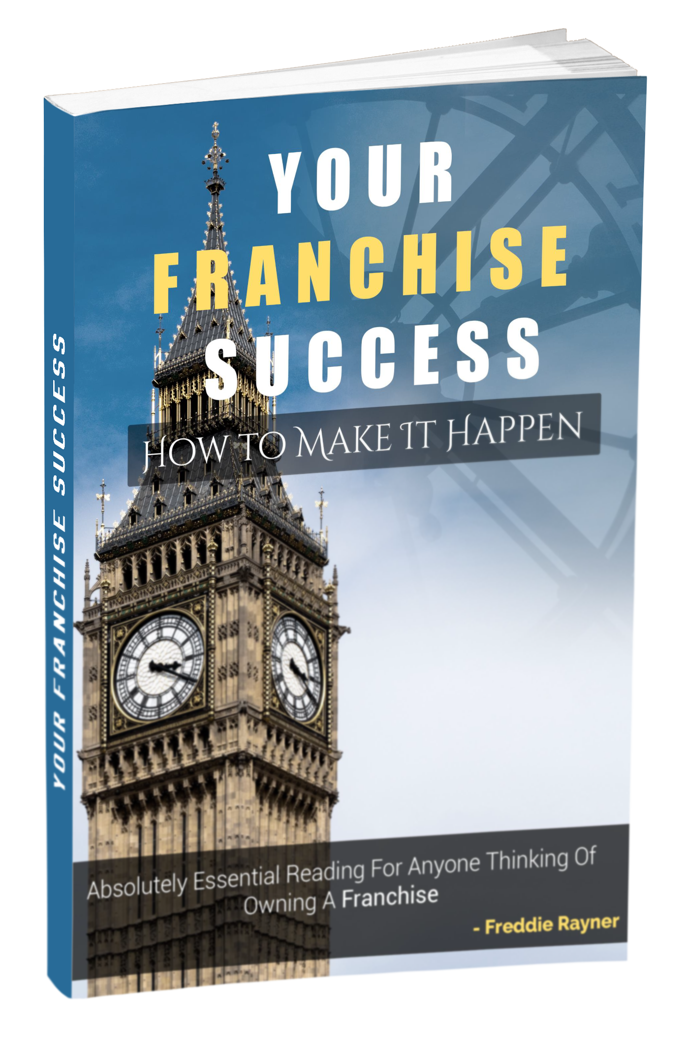 Your Franchise Success Cover Mck Up